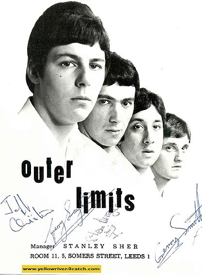 Outer Limits signed poster